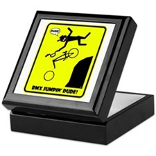 BMX JUMPIN' WARNING Mugs, Cups, Mousepads, Home &