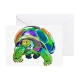 Rainbow Tortoise Greeting Card