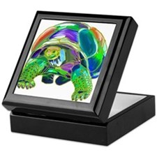 Rainbow Tortoise Keepsake Box