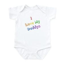 Unique My two daddies Infant Bodysuit