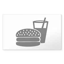 Fast food - Burger Decal