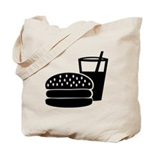 Fast food - Burger Tote Bag