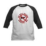 No Bull Saloon 1 Kids Baseball Jersey