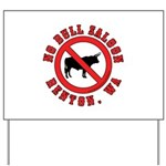 No Bull Saloon 1 Yard Sign