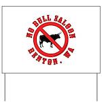 No Bull Saloon 1 Yard Sign