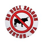 No Bull Saloon 1 Ornament (Round)