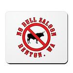 No Bull Saloon 1 Mousepad