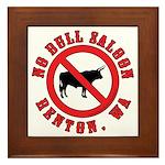No Bull Saloon 1 Framed Tile