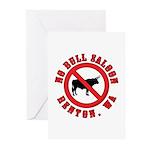 No Bull Saloon 1 Greeting Cards (Pk of 20)