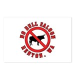 No Bull Saloon 1 Postcards (Package of 8)
