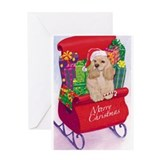 Cocker Spaniel Christmas Greeting Card