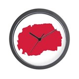 Macedonia Wall Clock