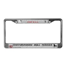 Stafford STOP BSL License Plate Frame