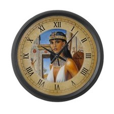 Amarna Lady Large Wall Clock