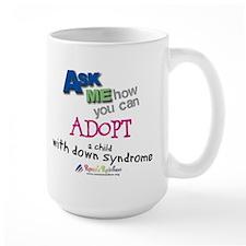 ASK ME! Large Mug
