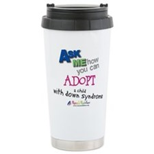 ASK ME! Stainless Steel Travel Mug