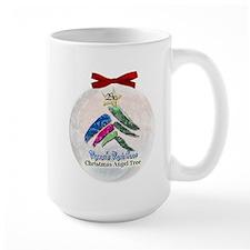 2010 Christmas Angel Tree Large Mug