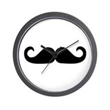 Beard - Mustache Wall Clock