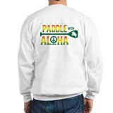 Paddle with Aloha Unisex Sweatshirt