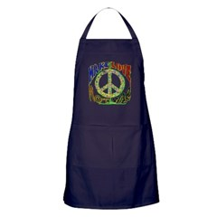 Love not War Dark Apron