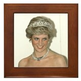 Funny Diana Framed Tile