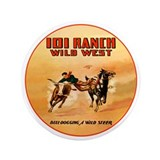 "Cute Wild dogs 3.5"" Button (100 pack)"