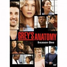 Grey's Anatomy: The Complete First Season DVD