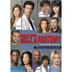 Grey's Anatomy: The Complete Third Season DVD