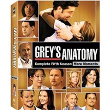 Grey's Anatomy: The Complete Fifth Season DVD