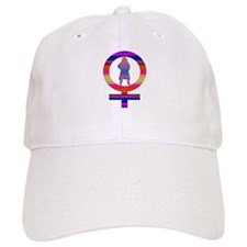Rainbow Woman Baseball Cap