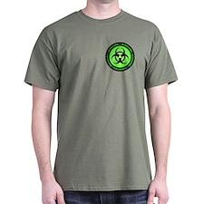 Green & Black Biohazard T-Shirt