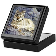 Lynx Kitten Keepsake Box