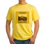 Los Angeles Museum of Natural Yellow T-Shirt