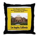 Los Angeles Museum of Natural Throw Pillow