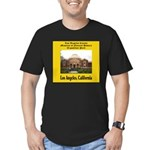Los Angeles Museum of Natural Men's Fitted T-Shirt