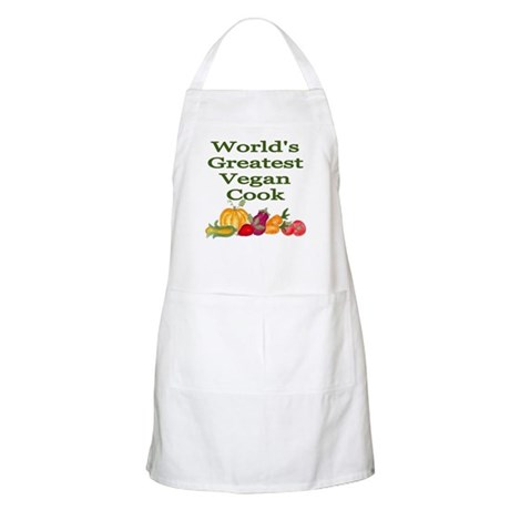 World's Greatest Vegan Cook Kitchen/BBQ Apron