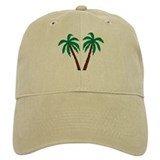 Palm trees Baseball Cap