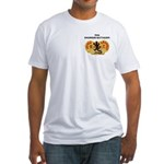 84th Engineer Battalion Fitted T-Shirt