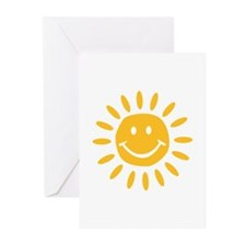 Sun Greeting Cards (Pk of 10)