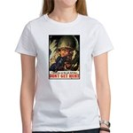 Don't Get Hurt Poster Art (Front) Women's T-Shirt