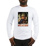 Don't Get Hurt Poster Art Long Sleeve T-Shirt