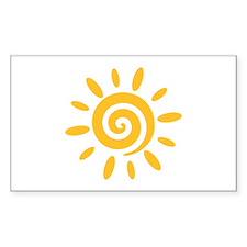 Sun Stickers