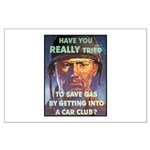 Save Gas Poster Art Large Poster