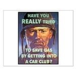 Save Gas Poster Art Small Poster