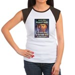 Save Gas Poster Art (Front) Women's Cap Sleeve T-S