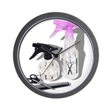 Hair cut spray bottle Wall Clock