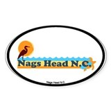 Nags Head NC - Beach Design Decal