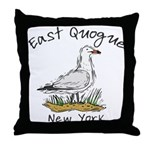 Seagull East Quogue Throw Pillow