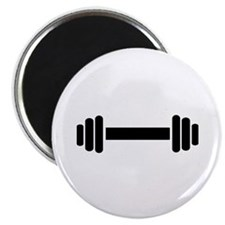 "Barbell - weightlifting 2.25"" Magnet (100 pack)"