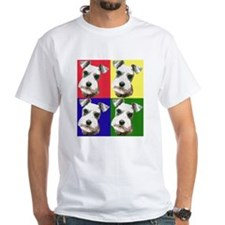 Color Block Schnauzer Shirt